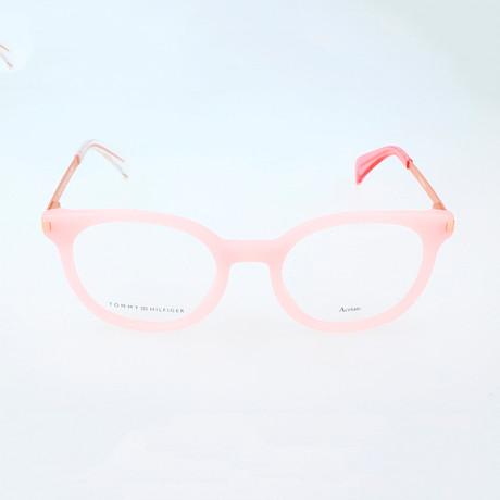 Women's 1380-QEE Optical Frames // Pink + Gold