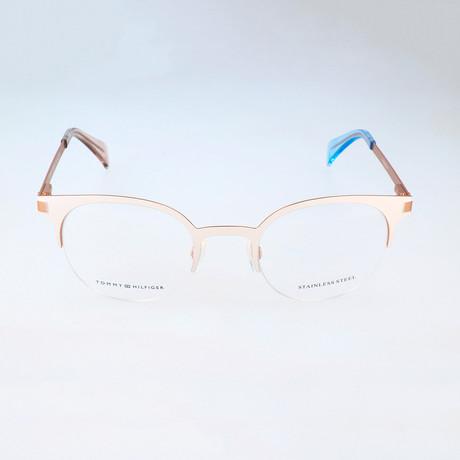 Women's 1382-QEL Optical Frames // Ivory + Gold