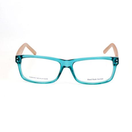 Men's 1136-F6H Optical Frames // Turquoise (52mm)