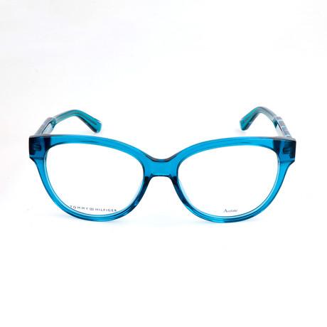 Women's 1387-QQI Optical Frames // Blue Havana