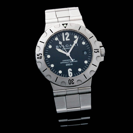 Bulgari Scuba Date Automatic // SG38 // Pre-Owned