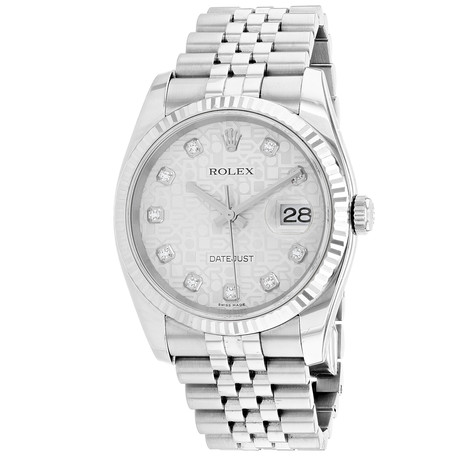 Rolex Datejust Automatic // 116234G // Pre-Owned