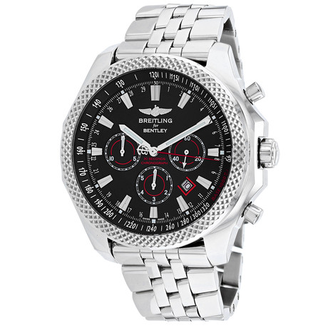 Breitling Bentley Barnato Racing Chronograph Automatic // A2536824-BB11-990A // Store Display