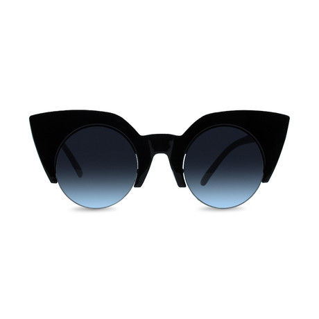 Unisex Montreal Sunglasses // Black + Gray