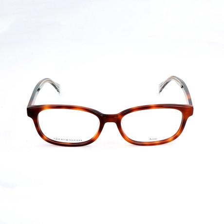 Men's 1301-F-G83 Optical Frames // Havana Green