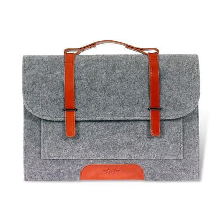 The Jon Business Portfolio Bag // Gray