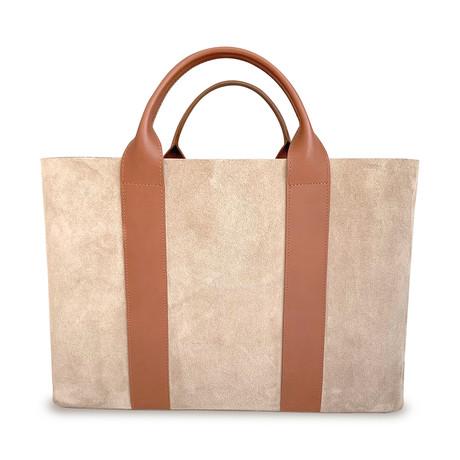 The Elegant Business Hand Bag // Beige