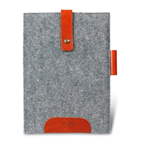 The Spartan Mini Portfolio Bag // Gray
