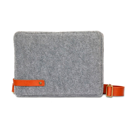 The Urban Postman Bag // Gray
