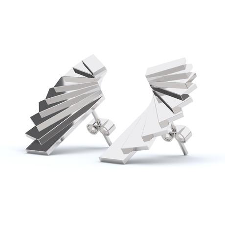 Wings Earrings // Sterling Silver