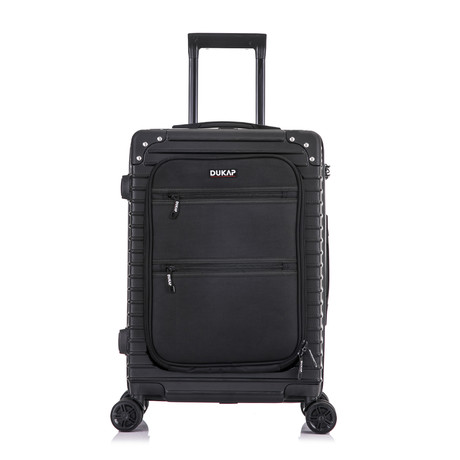 "Tour // Lightweight Carry-On + USB // 20"" (Black)"