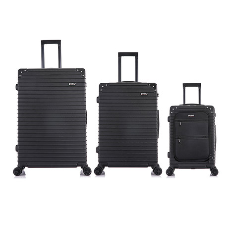 Tour // Lightweight Luggage // 3 Piece Set (Black)