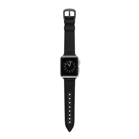 Apple Watch Band // Black + Black (38mm)