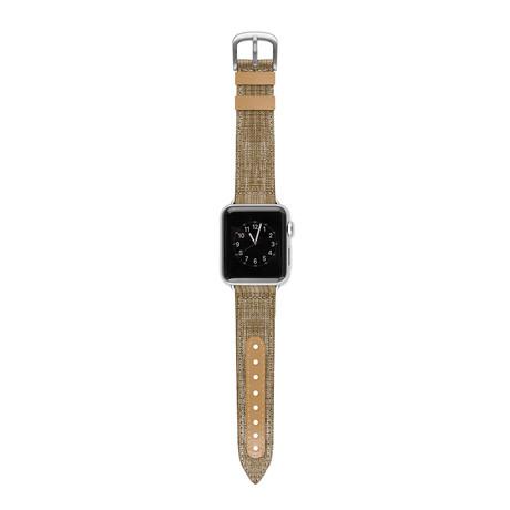 Apple Watch Band // Tweed + Tan (38mm)