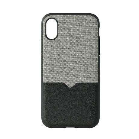 iPhone Case // Canvas + Black (6/6S/7/8)