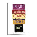 """Dot // Kandinsky (6""""W x 12""""H x 0.75""""D)"""