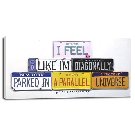 """Parallel Universe (12""""W x 6""""H x 0.75""""D)"""