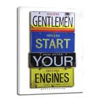 "Start Your Engines // Hulman (8""W x 12""H x 0.75""D)"
