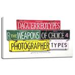 "Photographer (11""W x 7""H x 0.75""D)"