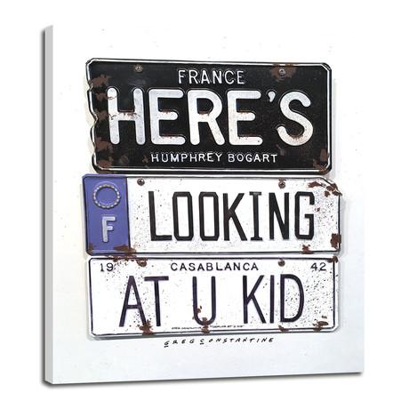 """U Kid // Bogart (8""""W x 10""""H x 0.75""""D)"""