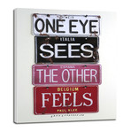 """One Eye Sees // Klee (8""""W x 10""""H x 0.75""""D)"""