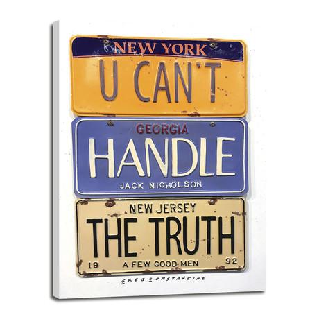 "Truth // Nicholson (8""W x 12""H x 0.75""D)"