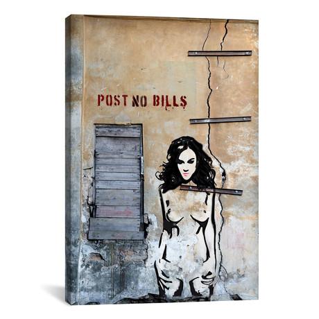 """Post No Bills // Luz Graphics (18""""W x 26""""H x 0.75""""D)"""