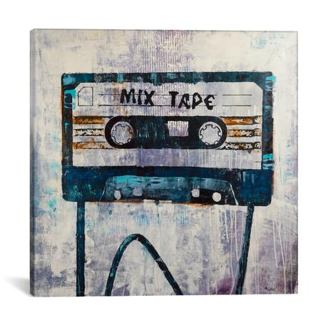 """Mix Tape // Francis Ward (12""""W x 12""""H x 0.75""""D)"""