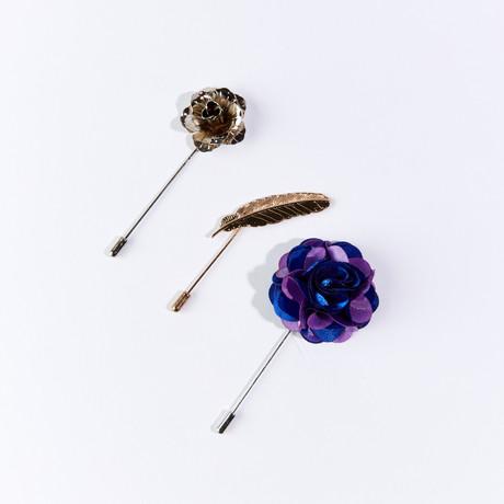 Lapel Pin Pack I // Set of 3