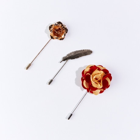 Lapel Pin Pack III // Set of 3