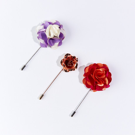 Lapel Pin Pack II // Set of 3