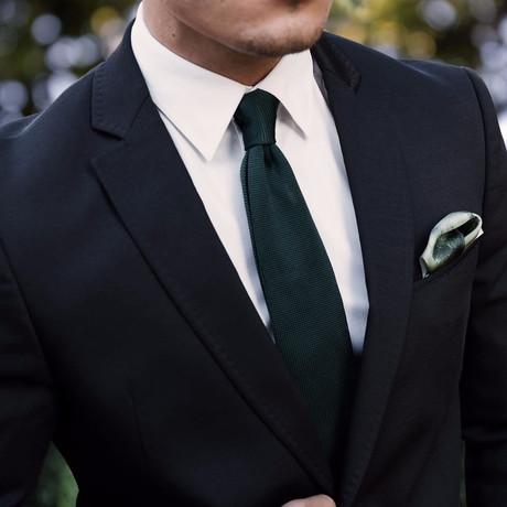 Moss Boss Tie // Green