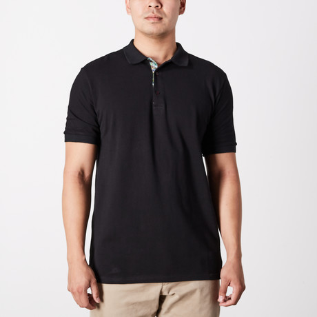 Aide Polo Shirt // Black (S)
