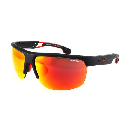 Carrera // Men's 4005S Sunglasses // Matte Black