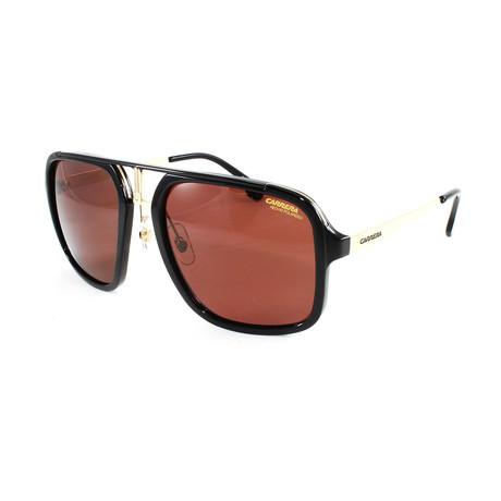 Men's 1004S Polarized Sunglasses // Black + Gold