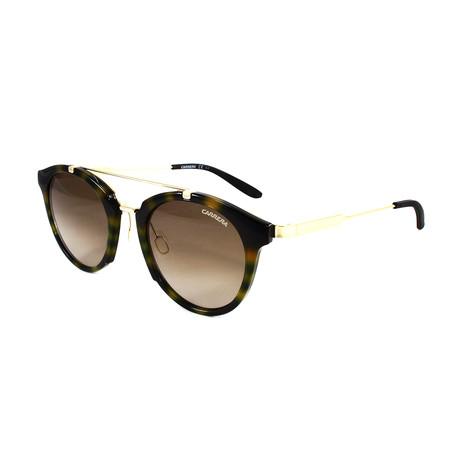 Carrera // Unisex 126S Sunglasses // Yellow Havana + Gold