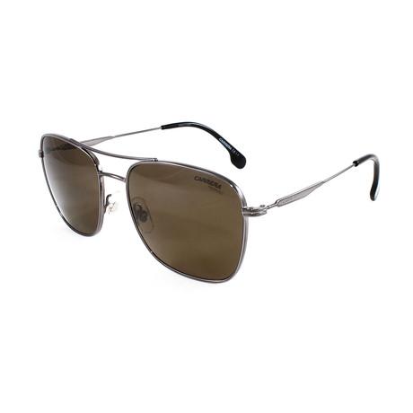 Carrera // Men's 130S Polarized Sunglasses // Dark Ruthenium