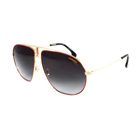 Carrera // Men's Bound Sunglasses // Red Gold