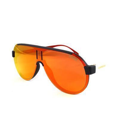 Men's 1008S Sunglasses // Matte Black + White