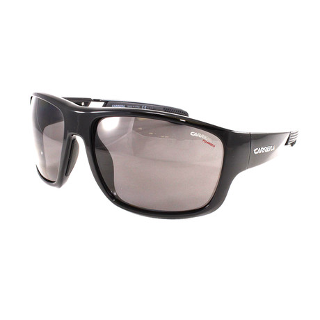 Carrera // Men's 4006S Polarized Sunglasses // Black