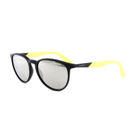 Women's 5019 Sunglasses // Matte Black + Lime