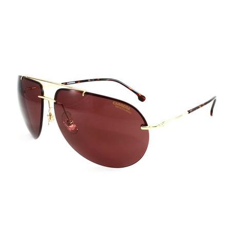 Carrera // Men's 149S Polarized Sunglasses // Gold
