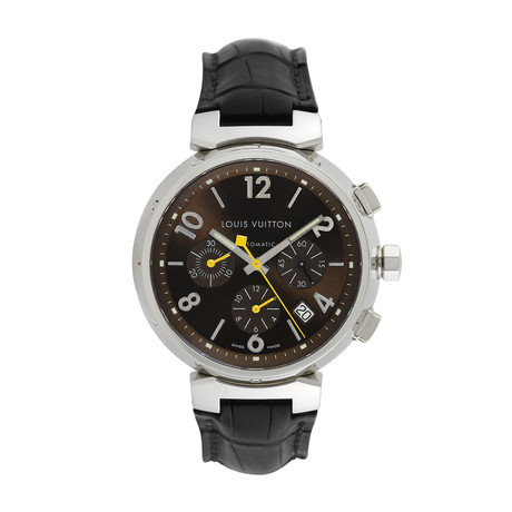 Louis Vuitton Tambour Chronograph Automatic // Q1121 // Pre-Owned