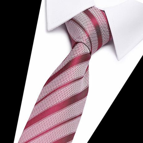 Neck Tie // Red Stripe