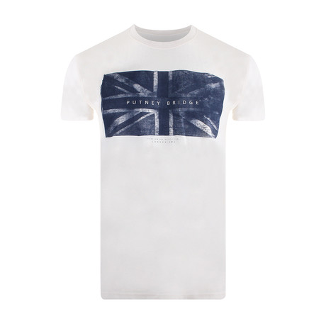 Union Flag T-Shirt // Vintage White (S)