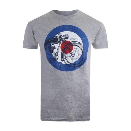 Motorcycle T-Shirt // Gray Marl (XS)