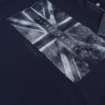 Union Flag T-Shirt // Navy (S)