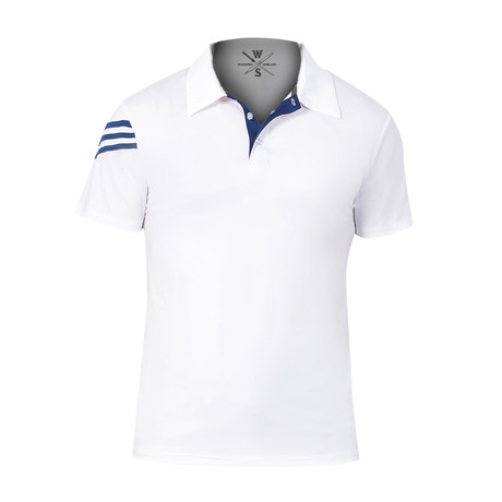 Driver Fitness Tech Polo // White (S)