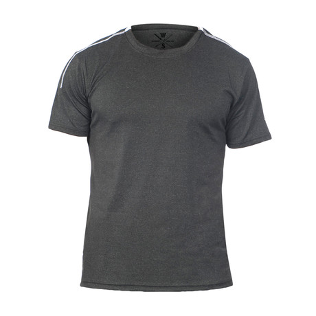 Hanover Fitness Tech T // Black Heather (S)