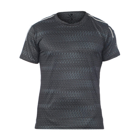Hanover Fitness Tech T // Black (S)